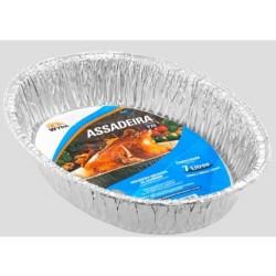ASSADEIRA DE ALUMINIO OVAL 7L WYDA REFY70