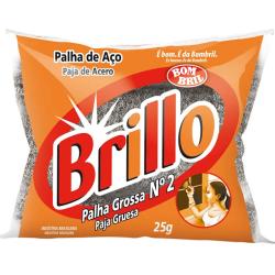PALHA DE AÇO N02 BRILLO