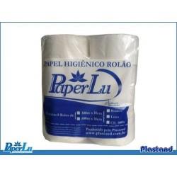 PAPEL HIGIENICO ROLAO COMUM 300M PAPERLU C/08