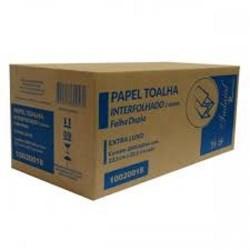 PAPEL TOALHA 2 DOBRAS FOLHA DUPLA INDAIAL IPEL / RENOVA C/2000