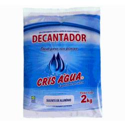 SULFATO DE ALUMINIO DECANTADOR 2KG CRIS AGUA