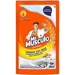 REFIL DESENGORDURANTE COZINHA 400ML MR MUSCULO